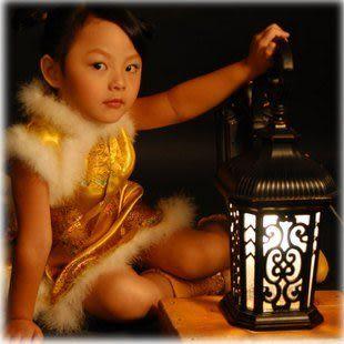 【亨萊特】歐式戶外 複古中國窗花風格室外陽台壁燈 0094-WD