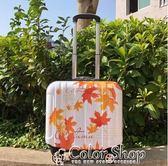 行李箱 拉桿箱 18寸拉桿箱女密碼箱小行李箱萬向輪電腦層17寸登機箱16寸旅行箱    color shop YYP