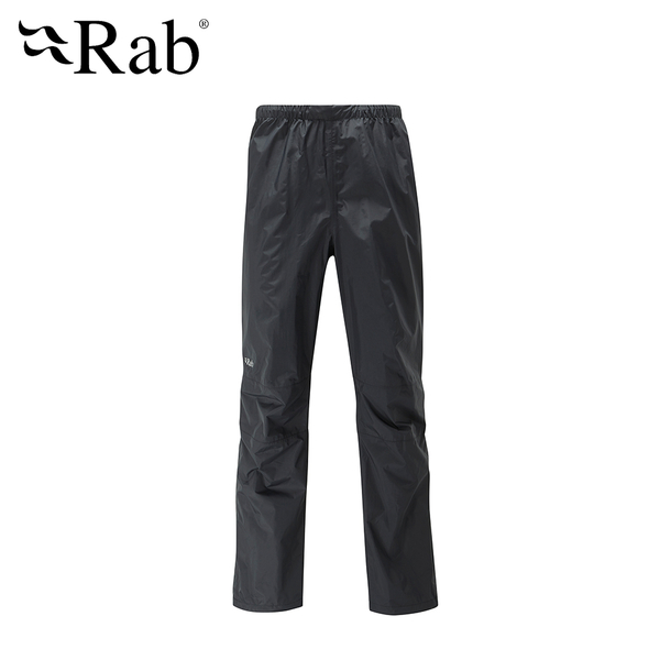 英國 RAB Downpour Pants 高透氣防水長褲 男款 黑 #QWF62