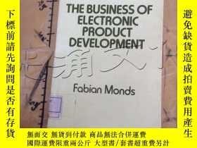 二手書博民逛書店The罕見Business of Electronic Prod