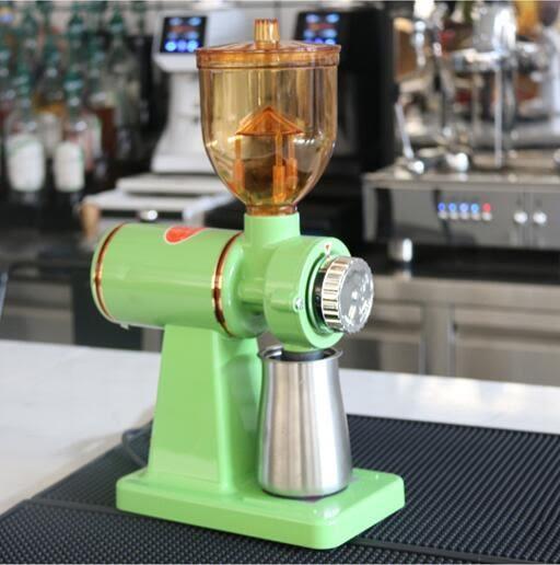 磨豆機 咖啡磨豆機電動咖啡豆研磨機磨豆機外觀磨咖啡豆家用研磨機【快速出貨八折搶購】