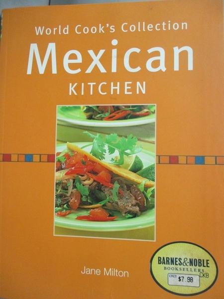 【書寶二手書T8/餐飲_ZHH】Mexican kitchen_Jane Milton