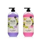 韓國 On The Body OLIVE 橄欖保溼沐浴精 500g 花香/薰衣草 款式可選 沐浴乳【YES 美妝】
