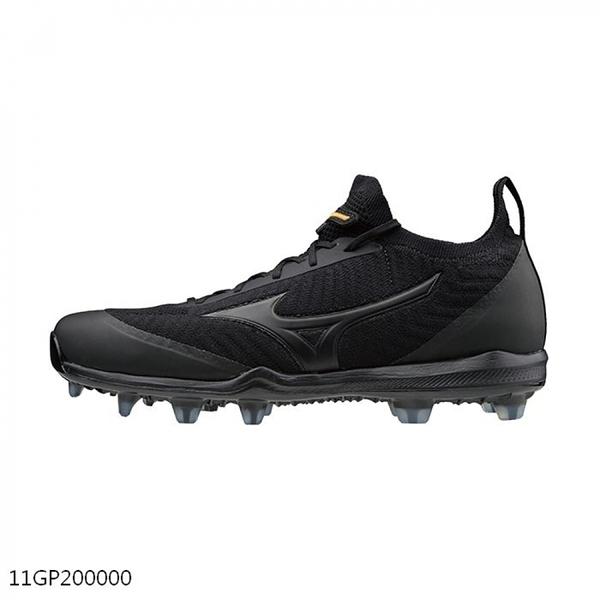 Mizuno Dominant Knit Tpu [11GP200000] 男鞋 運動 棒球 壘球 釘鞋 抓地 緩震 黑