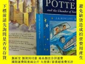 二手書博民逛書店HARRY罕見POTTER and the Chamber of Secrets:哈利波特與密室 Y20039
