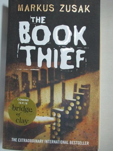 【書寶二手書T1/原文小說_BW2】The Book Thief_Markus Zusak