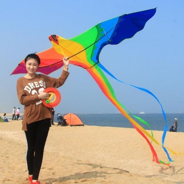 濰坊七彩鳳凰風箏兒童微風易飛成人大型高檔大人專用2021新款線輪ATF 格蘭小鋪