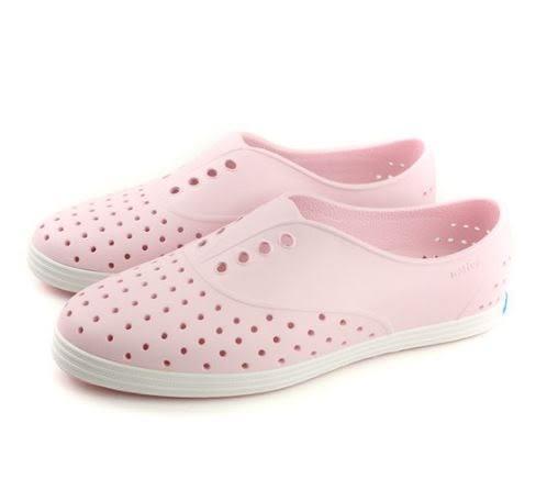 Native JERICHO 女款牛奶粉修身休閒鞋 -NO.11300400-6801