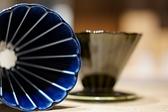 【沐湛咖啡】美濃燒 小兵製陶所 贈濾紙100入一包/2-4人錐形濾杯 小兵窯 藍色