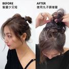 韓國假髮 甜甜圈髮束 鬆軟丸子頭 輕鬆綁...
