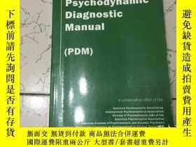 二手書博民逛書店psychodynamic罕見diagnostic manual