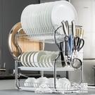 碗碟架瀝水碗架家用品餐具盤子晾放裝廚房碗筷收納架盒箱櫃置物架ATF 三角衣櫃