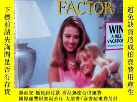 二手書博民逛書店英文原版罕見The Father Factor: Women Who Dare #14 (Harlequin Su