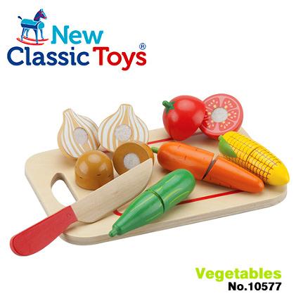 【荷蘭 New Classic Toys】蔬食切切樂8件組 10577