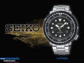 【時間道】SEIKO PROSPEX SCUBA鮪魚罐頭太陽能潛水腕錶/黑面鋼帶(V157-0CX0D/SNE497P1)免運費