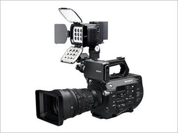 SONY HVL-LBPC 攝影燈 可調亮度/色溫 可使用L系列或U系列電池【 公司貨】HXR-NX100 NX5R NX80 PXW-Z150 Z90V
