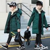 兒童羽絨棉服 男童冬裝外套2020中長款加厚男孩棉衣襖4-12歲 BT17707【大尺碼女王】