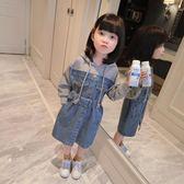 兒童洋裝 童裝女童秋裝2018新款韓版寶寶牛仔裙子春秋兒童洋裝長袖洋氣潮 年尾牙提前購