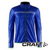 CRAFT 超輕量防潑水外套(男)Featherlight Jacket 藍彩印 1903290 公路車 風衣
