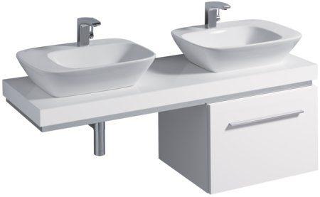 【麗室衛浴】德國 KERAMAG SILK系列  121650 右面盆 121655 左面盆  570*427mm