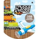 貼紙本350小張-交通工具