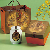 石門.陳年老茶-陶瓷罐裝(300g/罐),共一盒)﹍愛食網
