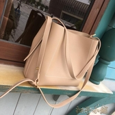 大包包新款韓版簡約百搭女包ins手提單肩包斜背大包女休閒包 扣子小鋪