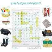 韓版-字母收納夾鏈袋(大號5枚入) DIY物品名 出差旅行必備