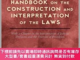二手書博民逛書店Handbook罕見on the Construction and Interpretation of the L