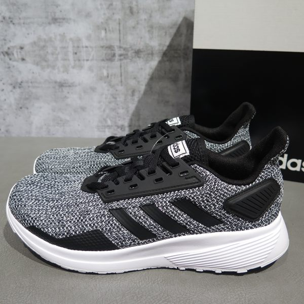 【iSport愛運動】adidas DURAMO 9 慢跑鞋 正貨 BB6917 男款 灰