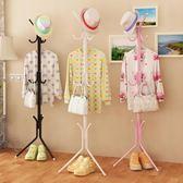 簡易落地衣帽架掛衣架 鐵藝衣服掛衣架包架 家用臥室單桿式衣架