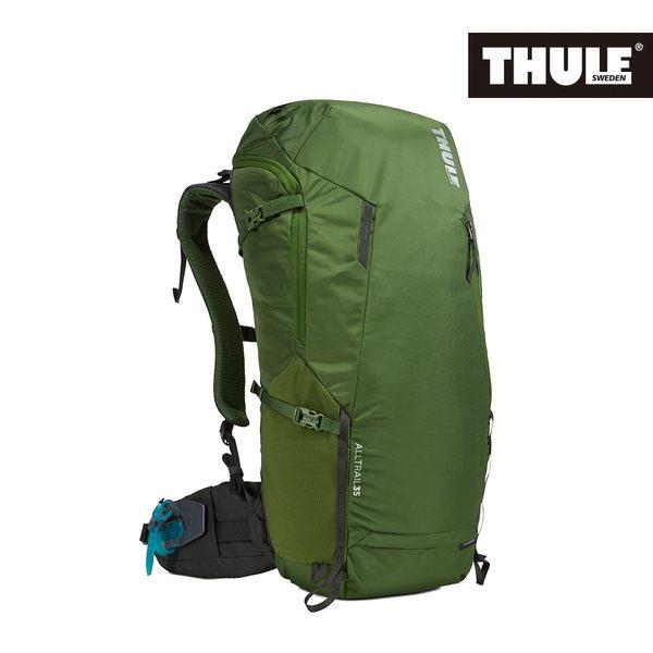 THULE-AllTrail系列35L男用登山包-綠