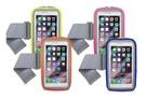 【超人生活百貨O】5.7吋智慧型手機用 炫彩透氣運動手機臂包(內置收納層) 手機臂套 手機臂袋