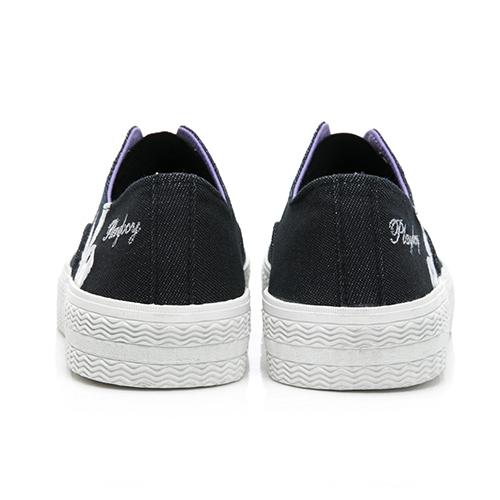 PLAYBOY活力靈感 簡約餅乾鞋-黑(Y6216)