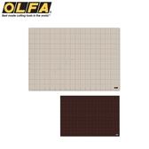 又敗家@日本OLFA超大灰褐+咖啡色雙面切割墊板CM-A1裁切墊割布墊160B美工墊板公仔模型工作防滑墊板
