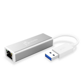 j5create 凱捷 JUE130 USB3.0 Gigabit LAN 超高速 外接網路卡
