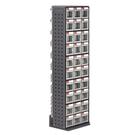 [ 家事達 ] 樹德 RFO-690  零件快取盒旋轉架 90格抽屜   特價  收納箱/整理箱