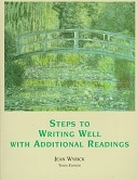 二手書博民逛書店《Steps to Writing Well: With Additional Readings》 R2Y ISBN:0155019899