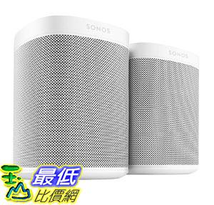 [7美國直購] Two Room Set with all-new Sonos One - Smart Speaker with Alexa voice control built-In.  (White)