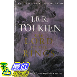 [104美國直購] 美國暢銷書排行榜 The Lord of the Rings: 50th Anniversary, One Vol. Edition Paperback