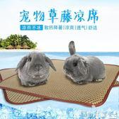 倉鼠消暑 寵物涼席夏季降溫兔子豚鼠龍貓涼爽透氣坐墊夏天消暑墊子用品igo 寶貝計畫