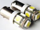 BA9S LED 5SMD 5顆 5面 ...