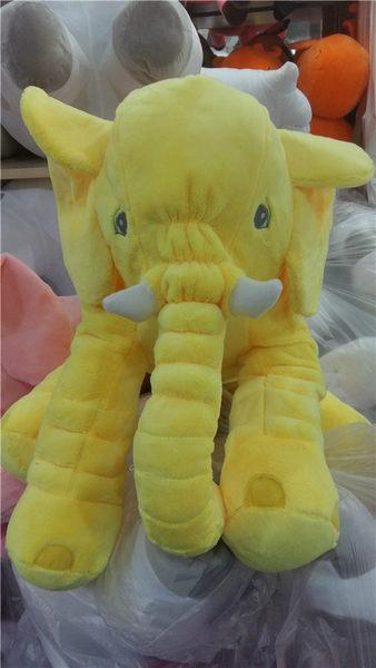 新款可愛大象抱枕 嬰兒枕 安撫枕 毛絨玩偶 娃娃 靠枕 嬰兒枕頭 玩具☆現貨供應☆【宇庭飾品店】