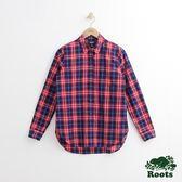 Roots - 女裝 - 布魯克格紋襯衫 - 紅色