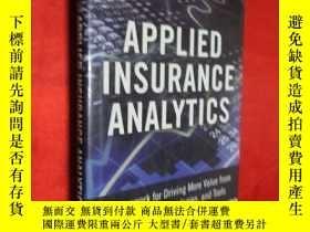 二手書博民逛書店Applied罕見Insurance Analytics: A