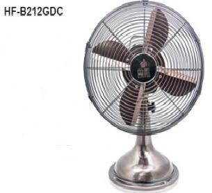 【勳風】U-Take 12吋DC行動古銅桌扇 HF-B212GDC / HFB212GDC 宮廷復古風造型