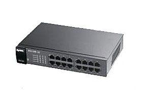 ◤全新品 含稅 免運費◢ ZyXEL ES1100-16P 16埠 乙太網路 無網管PoE交換器