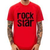 Rock Star#2短袖T恤-3色 搖滾巨星名星樂團 metal 金屬 美國進口 文字 英文 Gildan 390