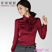 長袖襯衫女職業裝長袖襯衫女保暖正裝打底工作服襯衣冬春季新品