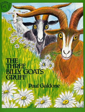 【麥克書店】『小熊媽的經典英語繪本』THE THREE BILLY GOATS GRUFF /英文繪本+CD